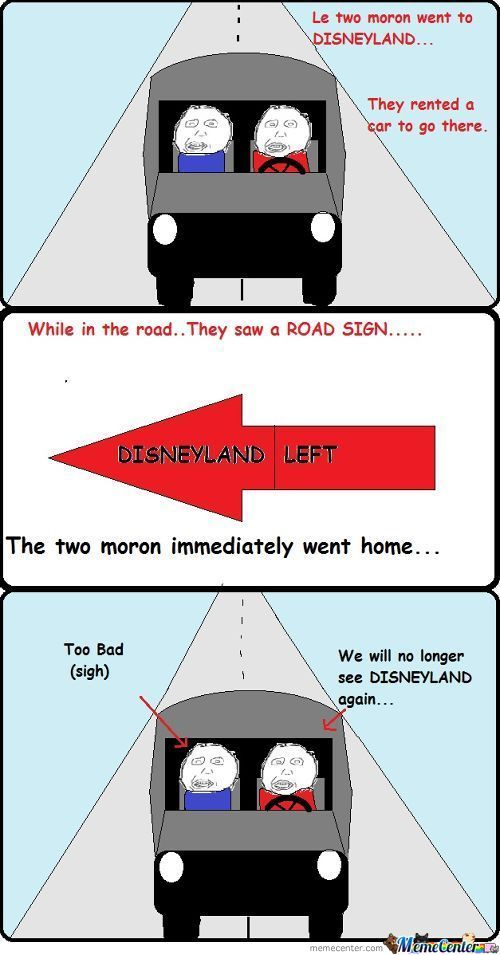 We're About To Go To Disneyland.and Its Gone..