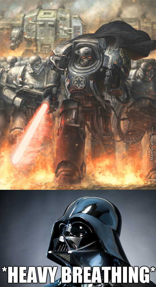 Wh40K Makes Everything Better