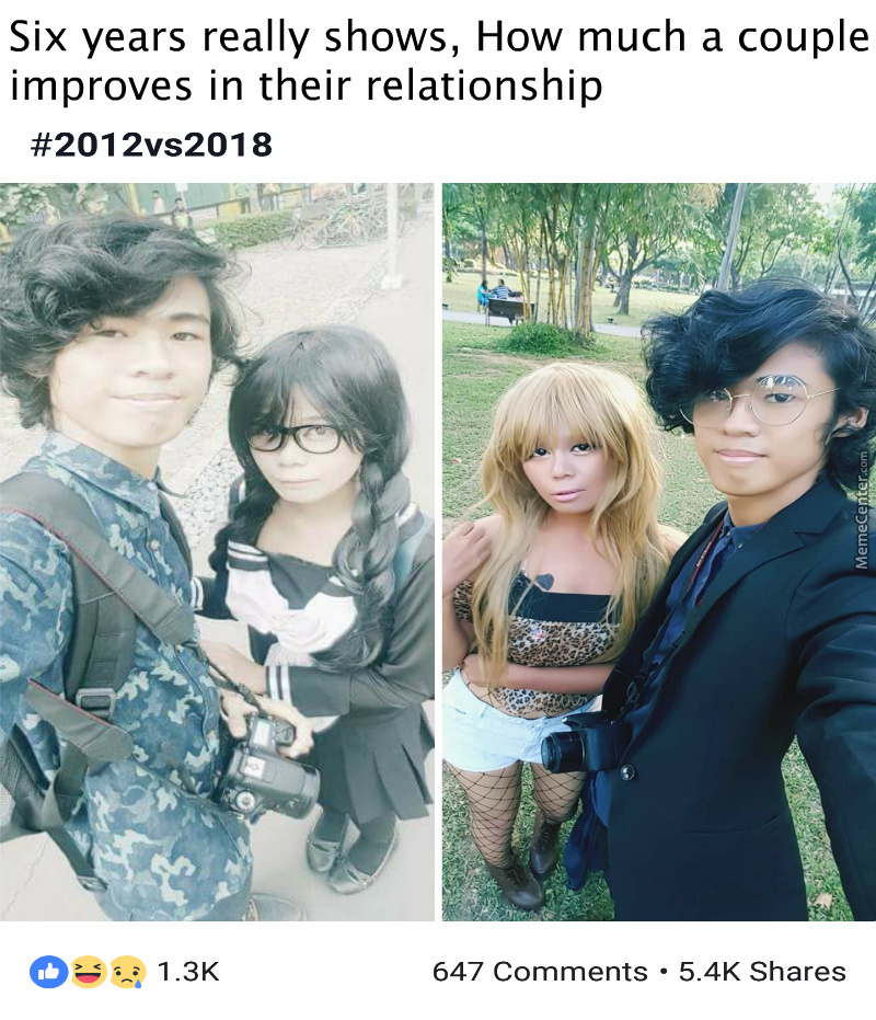 What A Cool Cosplay Of Dr. Tenma From Astro Boy And A School Girl. Wait Oh No.....