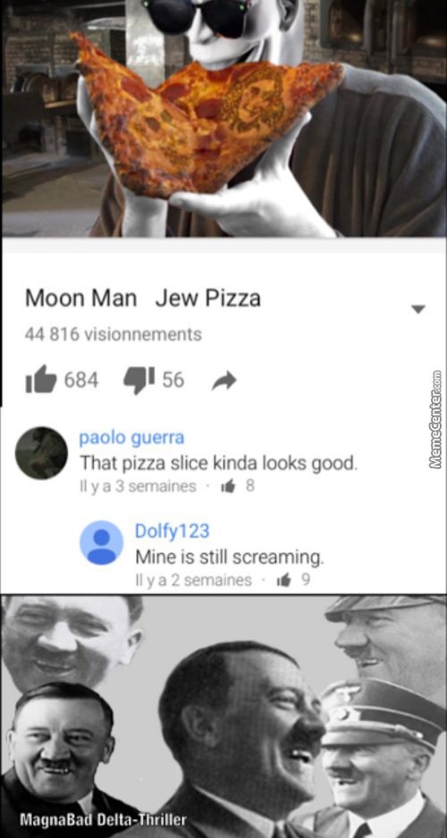What's The Difference Between A Pizza And A Jew.... Oh Well You Already Know The Answer