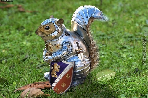 What's This, You Ask? Oh, Just Squirrel Battle Armor