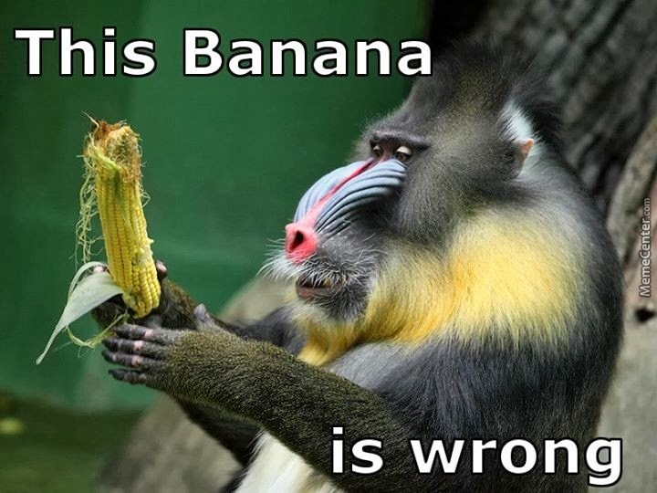 What S Wrong With Ya Banana By Marshmallowman Meme Center