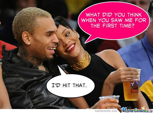 What Chris Brown Thought About Rihanna First Time