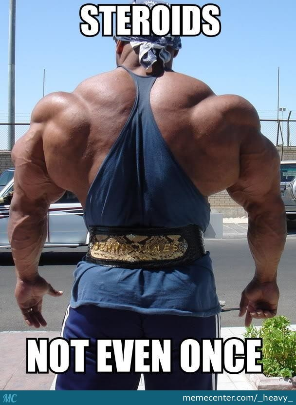 steroid users pics