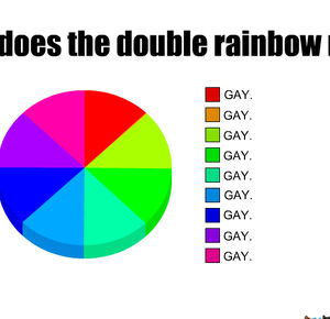 what does the double rainbow really means_fb_188431 what does the double rainbow really means by iveto meme center