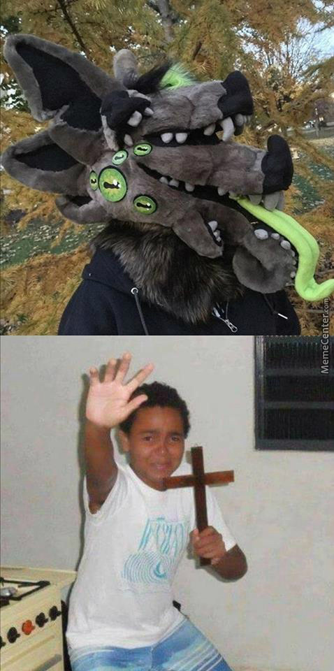 What Gives At The Cross Between A Furry And Cthulhu