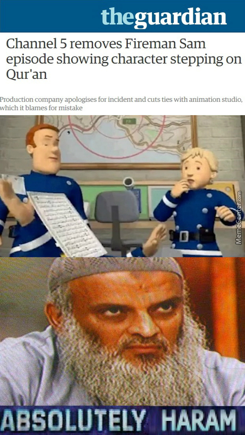 What Happend Fireman Sam, You Used To Be Cool