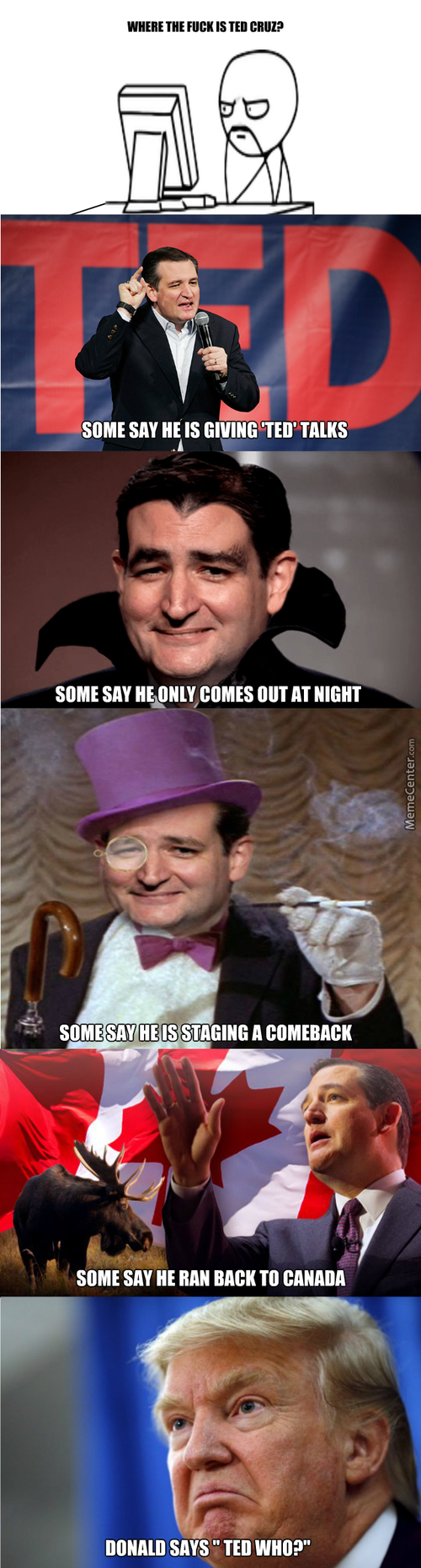 What Happened To Ted Cruz? He Is Fading From Memory