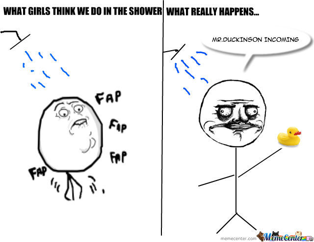 What Happens In The Shower Stays In The Shower...