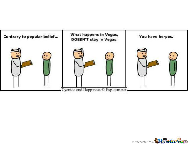 What Happens In Vegas Doesn T Stay In Vegas By Cyanide Happiness