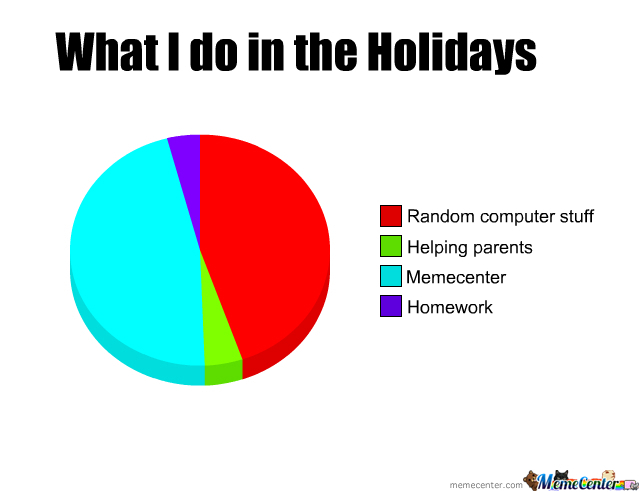 What I Do In The Holidays