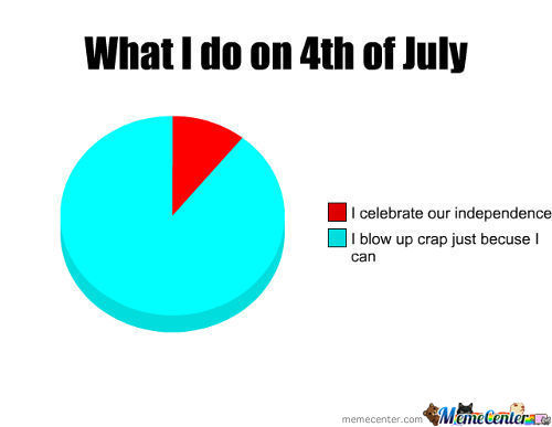What I Do On 4Th Of July