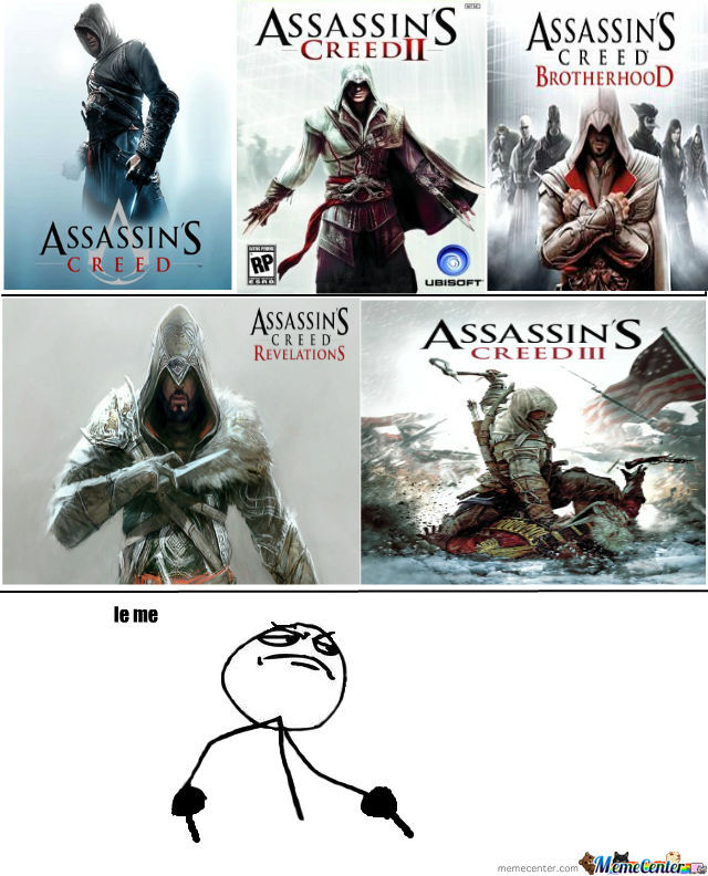 What I Learn From Assassin S Creed By Fbk Meme Center