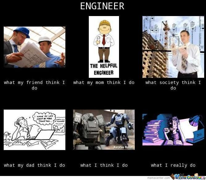 What I Think I Do As Engineer