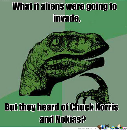 What If Chuck Norris Had Nokia Armor?