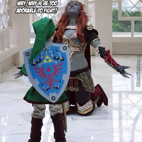 What If Ganondorf Was A Girl Who Have To Fight Little Link