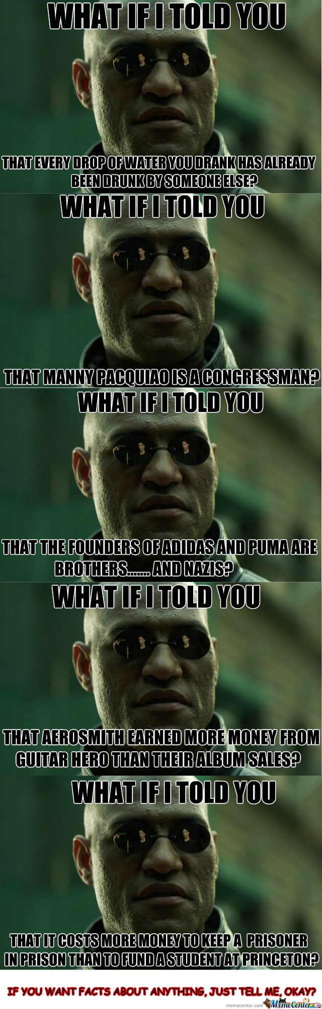 What If I Told You? Facts #1