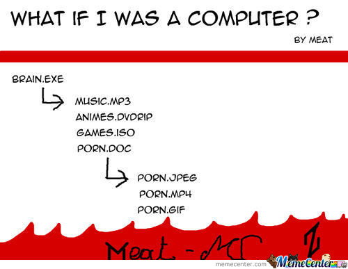 What If I Was A Computer ?