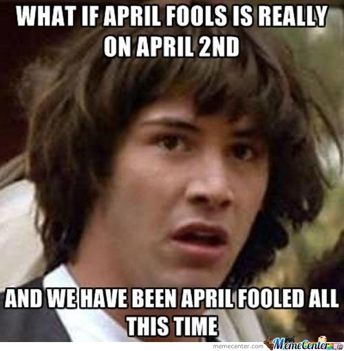 What If April ...