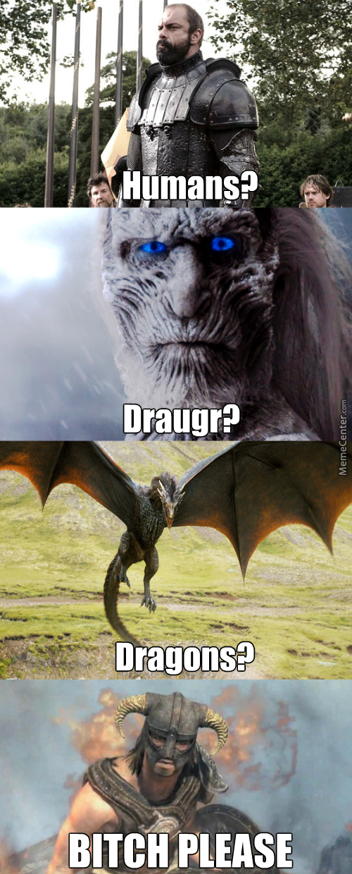What If The Dragonborn Traveled To Westeros?
