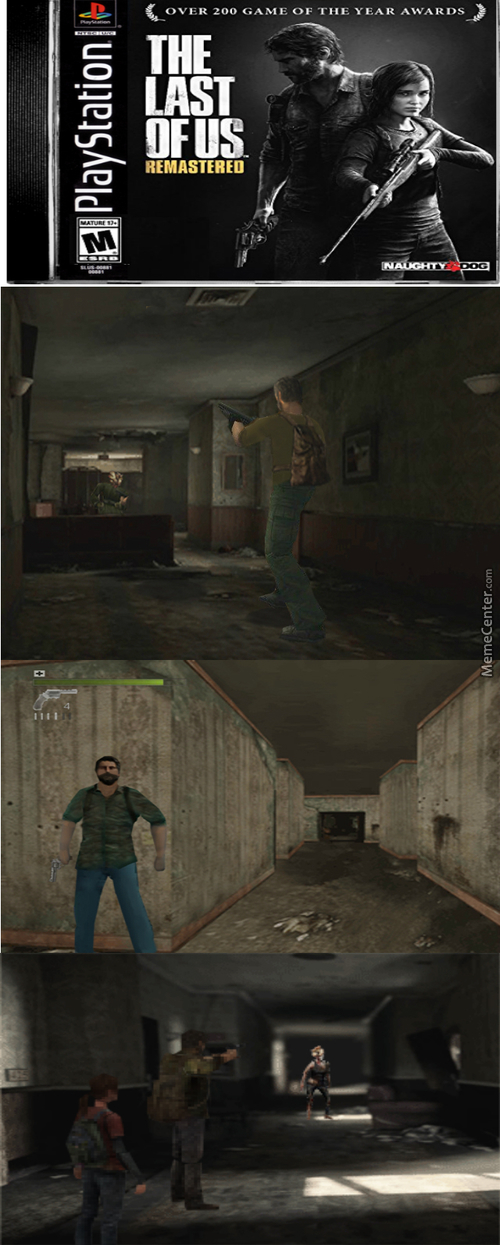 What If The Last Of Us Was On Ps1?