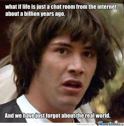 What If The Universe Is Th Internet