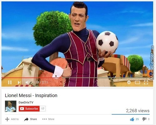 What Inspired Messi