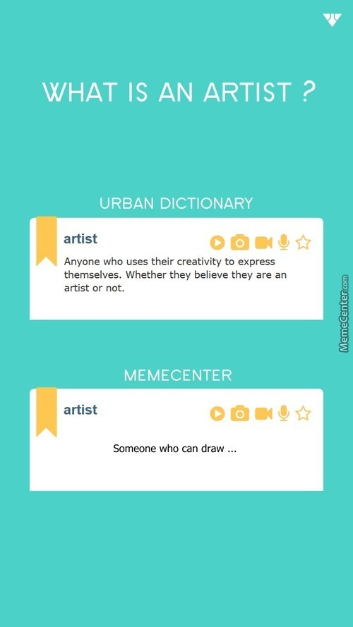 What Is An Artist ?
