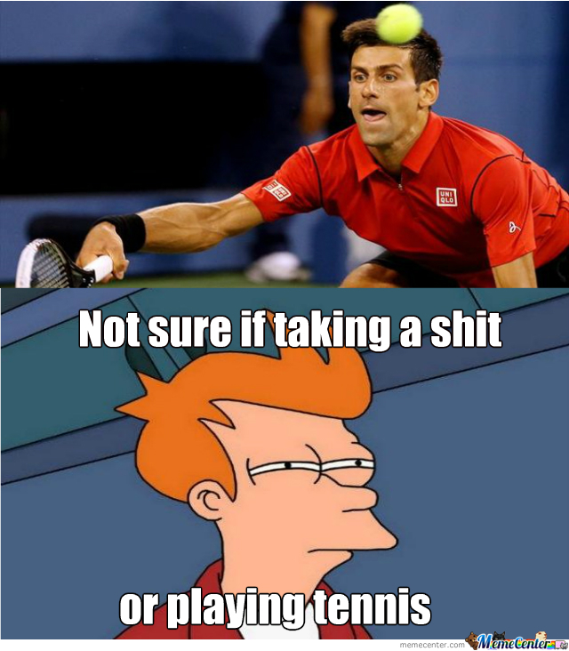 What Is Djokovic Doing By Quentino Meme Center