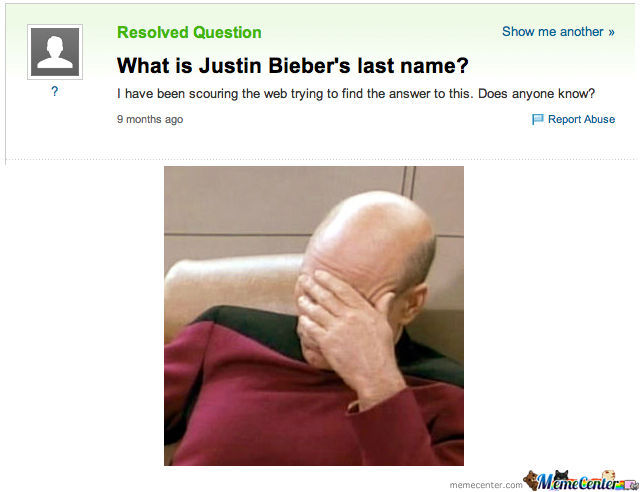 What Is Justin Bieber's Last Name?