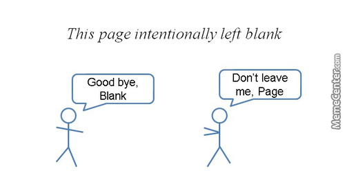 What Is Page's Intention?