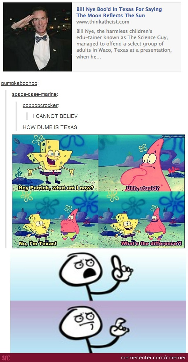 What is the difference between texas and stupid