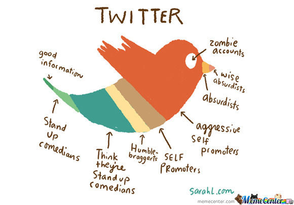 What Makes Up Twitter