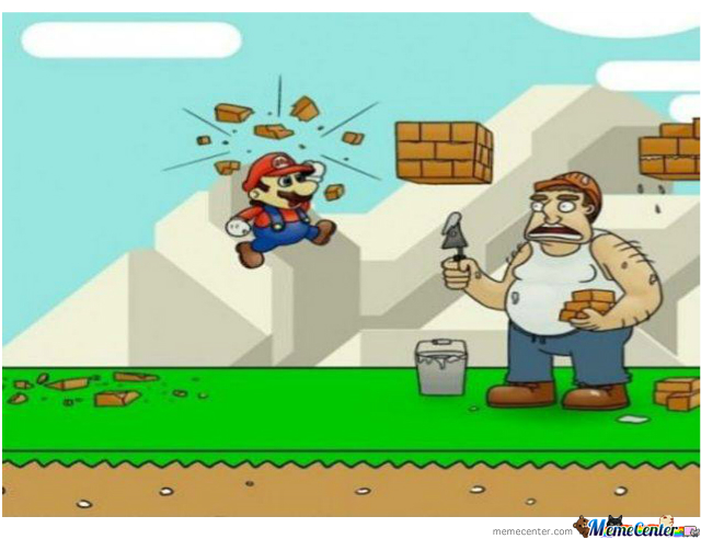 What Mario Was Real Doing