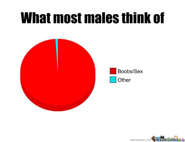 What Most Males Think Of