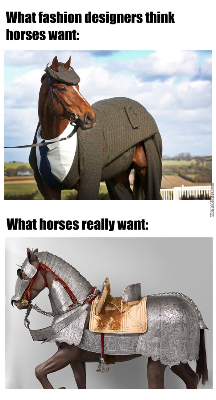 What Real Horses Want