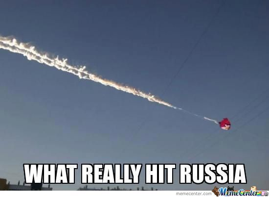 What Really Hit Russia