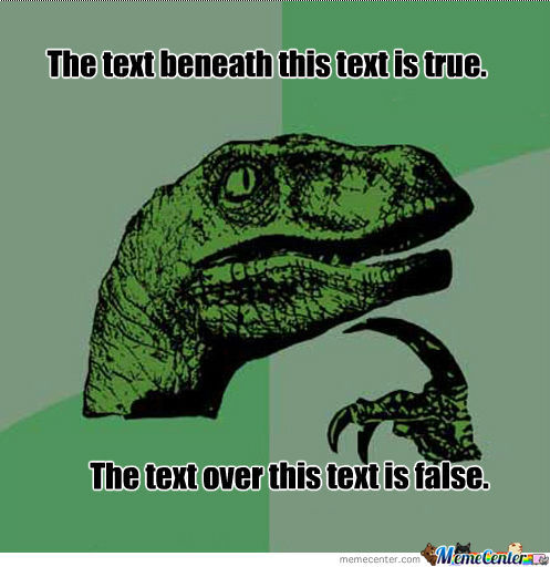 What Text Is True?