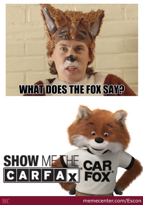What The Fox Actually Says