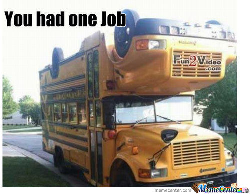 What The Hell School Bus!