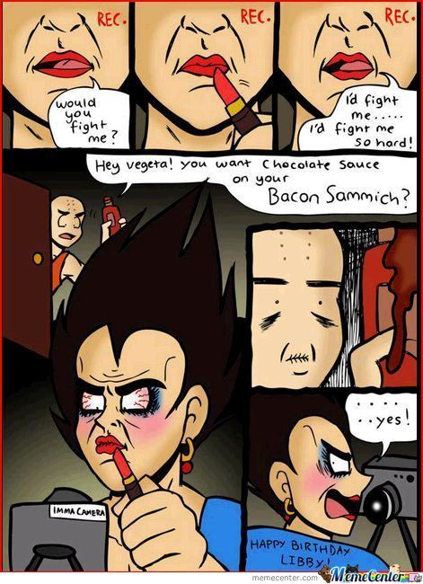 What The Hell Vegeta?