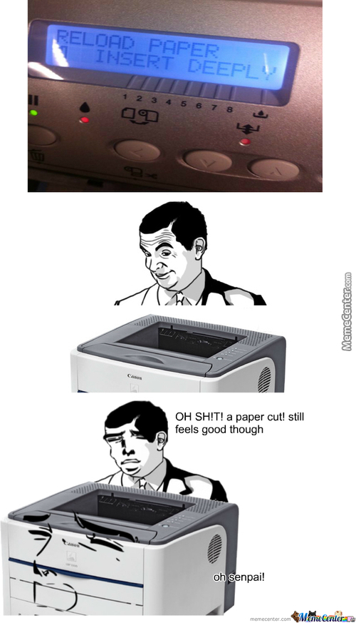 What To Do When A Printer Is Horny