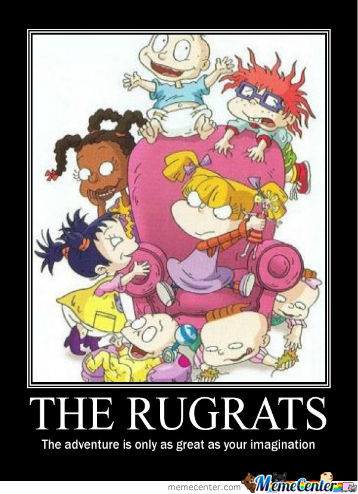 the joy behind the tv show rugrats