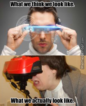 What We Think We Look Like With Vr Gear