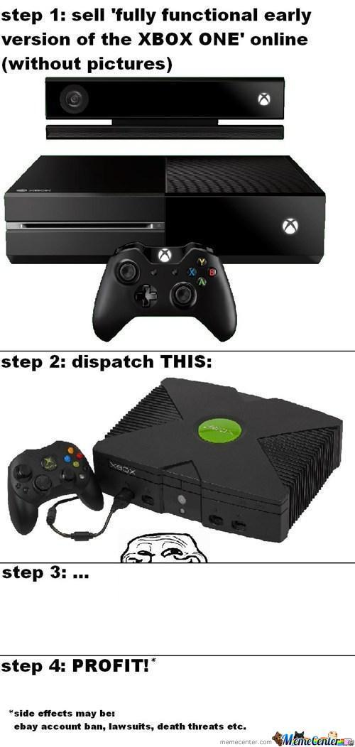 What? You Ask For And Xbox One...
