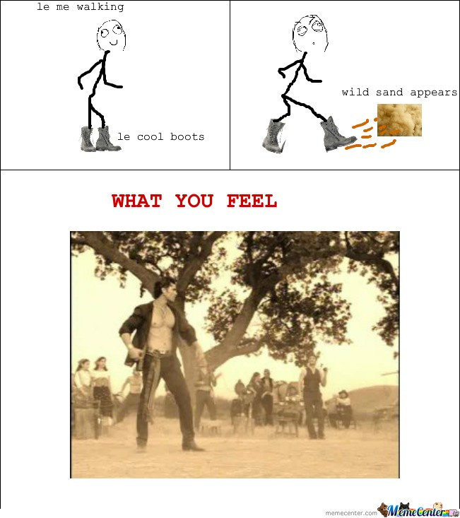 What You Feel...