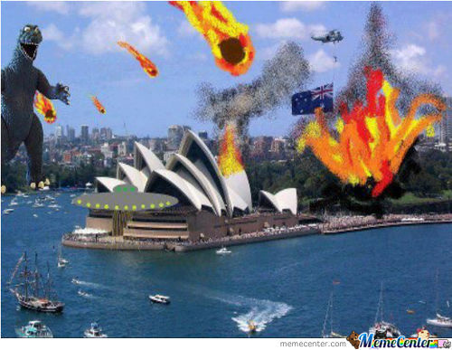 What's Currently Happening In Australia. / Found This Picture On Facebook. /