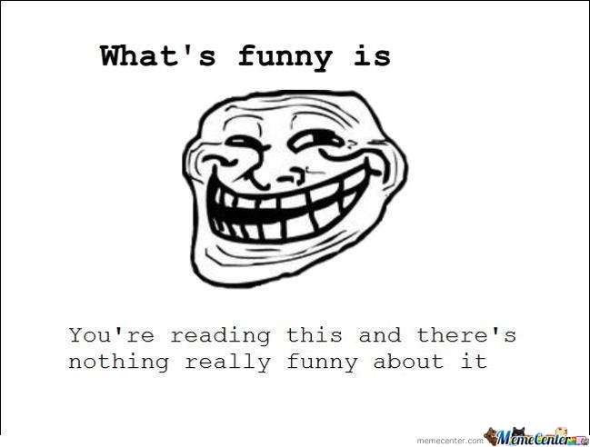 What's Funny Is...
