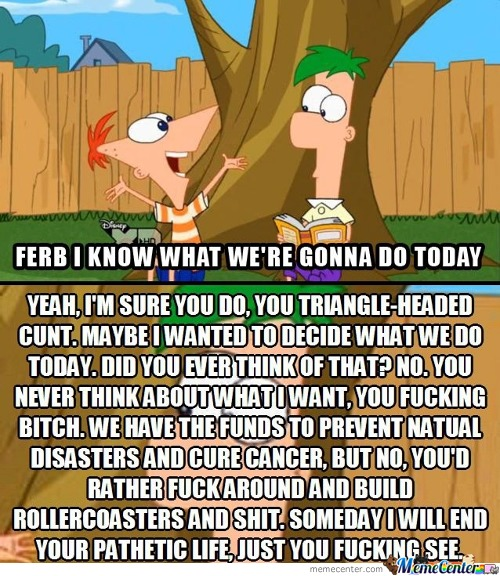 What's In Ferb's Mind All This Time