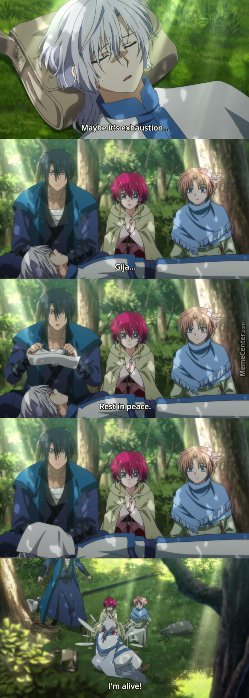 When An Active User Becomes Inactive. (Anime: Akatsuki No Yona )